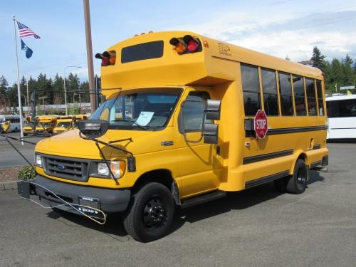 Type A School bus types classes RV