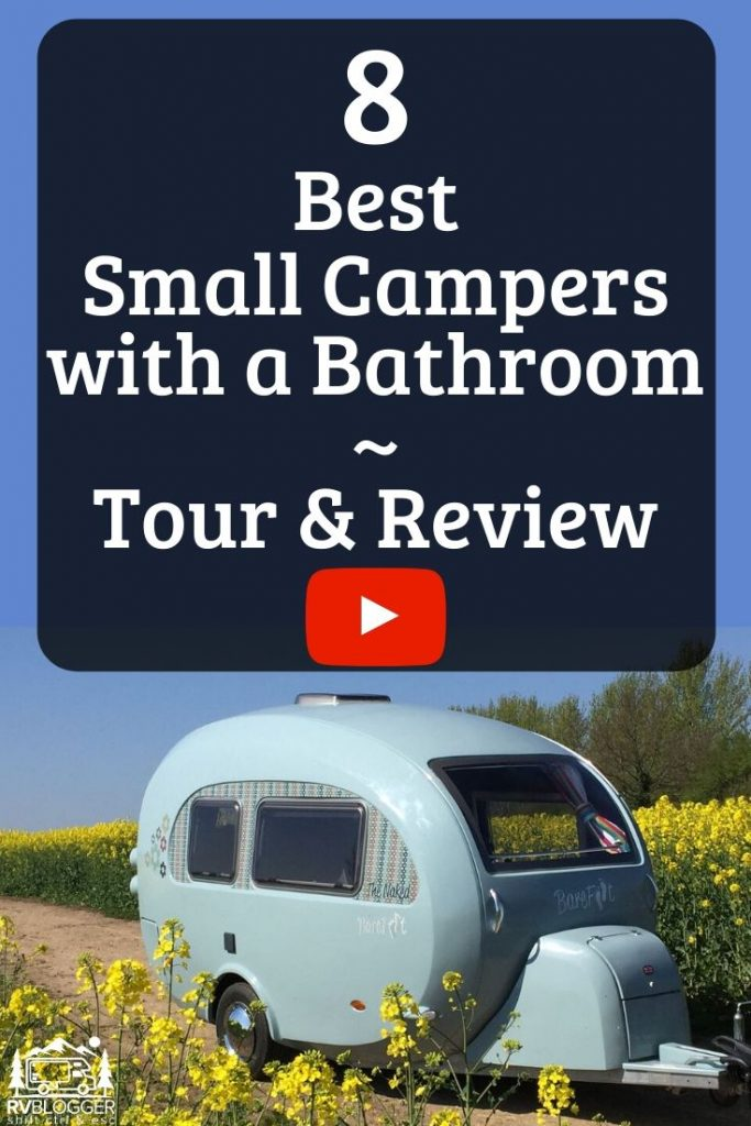 8 Best Small Camping Trailers with Bathrooms