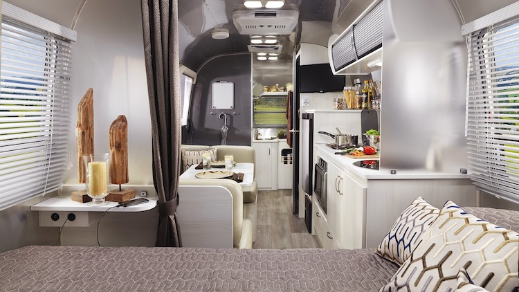Airstream Sport Travel Trailer interior