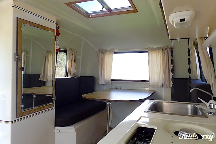 Scamp Camper Trailer Interior