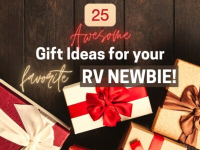 25 Beginner Supplies and Accessories for Travel Trailer Camping gifts