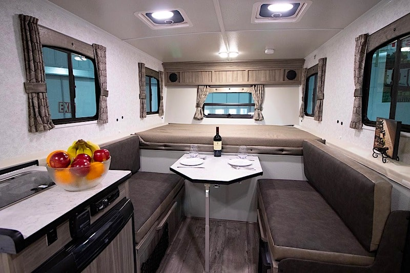 small camper with bathroom Trailmanor 2518 Series