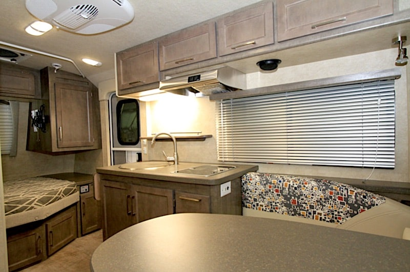 small travel trailer with bathroom Bigfoot RV 25B17