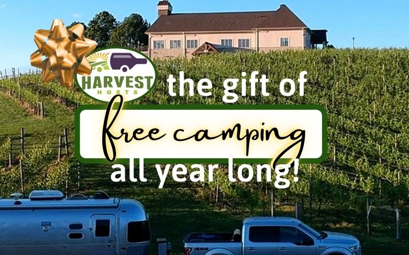 Harvest Hosts - A Great Way to Camp for Free!
