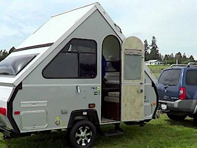 How Much Does an A Frame Pop Up Camper Cost?