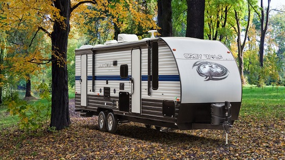 Travel Trailer on Private Property