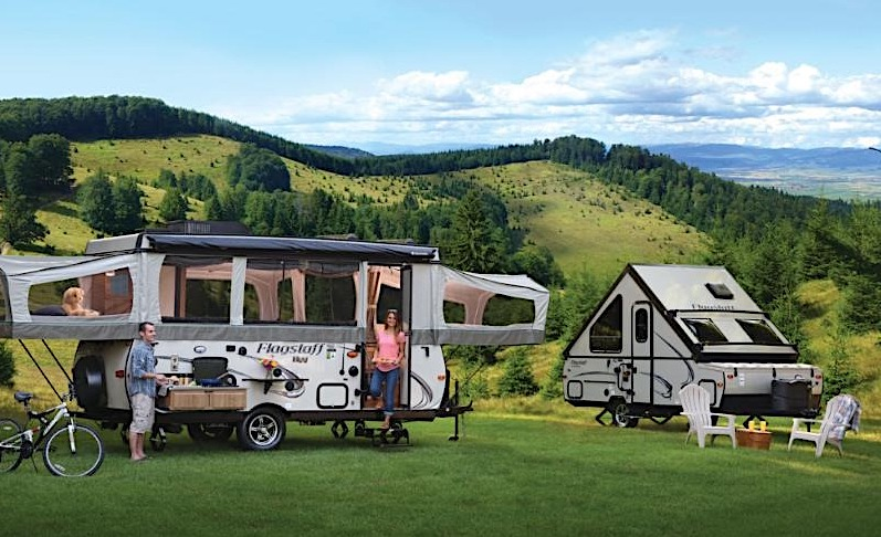 7 Best Pop Up Campers with Bathrooms in 2021
