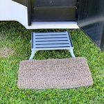 Grass Door Mat to Keep Your Truck Camper Clean