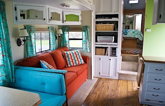 20 Amazing Decorating Ideas for Your Travel Trailer or RV