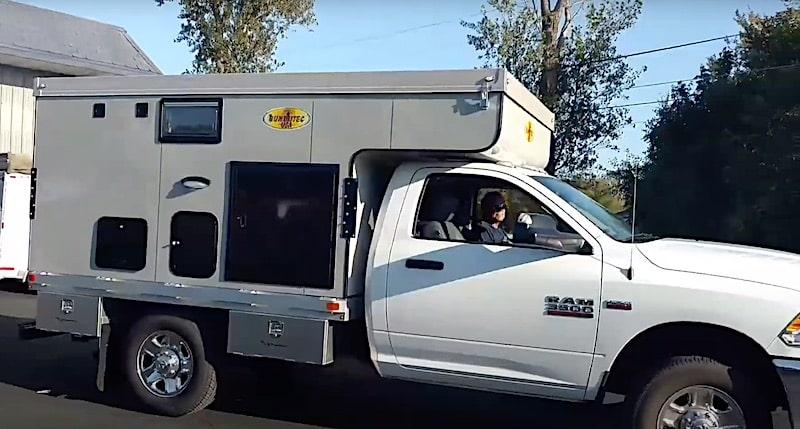 BunduTecUSA flat bed Truck Campers
