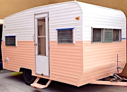 Exterior Travel Trailer Paint