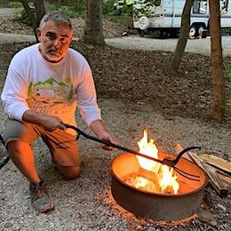 HEAVY DUTY LOG GRABER AND FIRE POKER RVBLOGGER