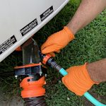 HEAVY DUTY NITRILE GLOVES for Emptying Your Truck Camper Black Tank