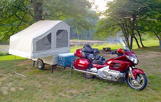 Kompact Kamp Mini Mate Motorcycle Pop Up Camper