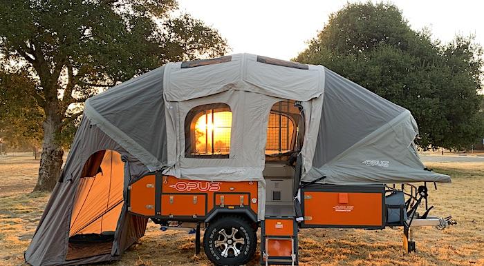 Opus 2 Sleeper Off road pop up camper
