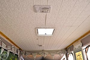 Plastic Panel RV Ceiling