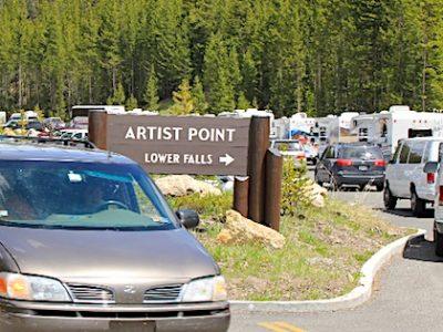 RV Parking in Yellowstone