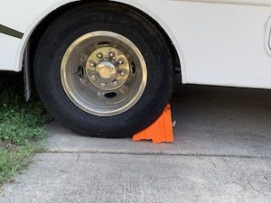 RV Wheel Chock