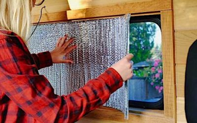 RV Window Insulation Tips for Summer and Winter