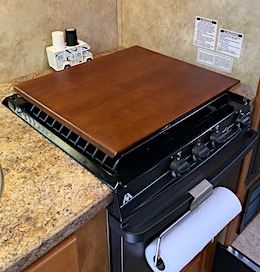 STOVE TOP COVER RVBLOGGER