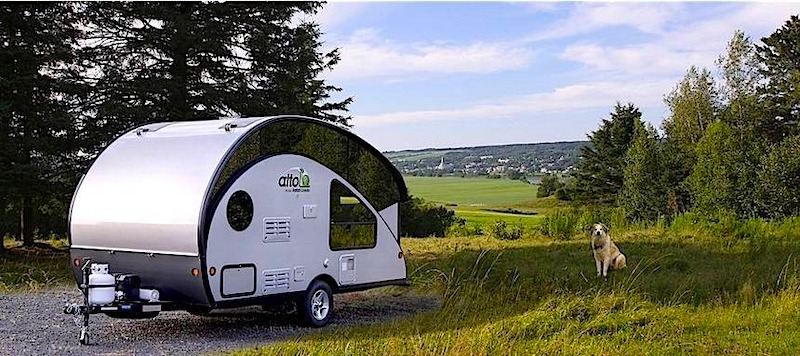 Tear Drop Pop Up Camper