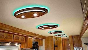 Vinyl RV Ceiling