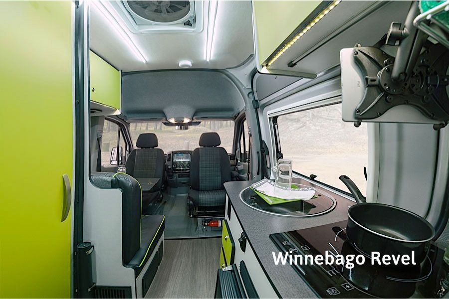 Winnebago Revel 4x4 Interior RV Rental