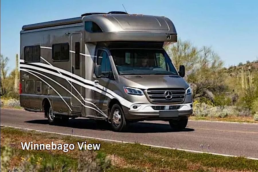 Winnebago View Exterior RV Rental