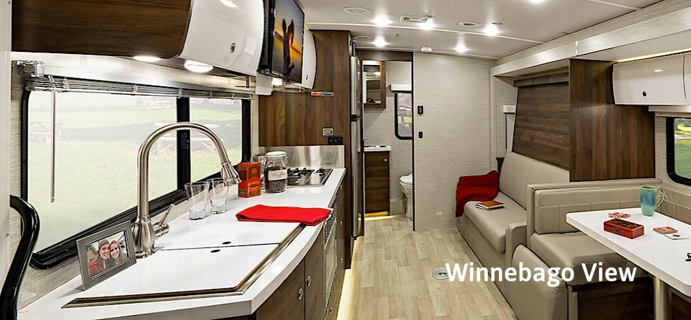 Winnebago View Interior RV Rental