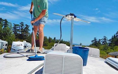 9 Easy Tips for Cleaning Your RV Rubber Roof