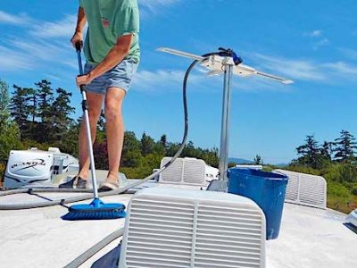 9 tips for cleaning an RV rubber roof