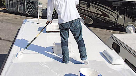 Roof Coating Contractor For Elastomeric Roof