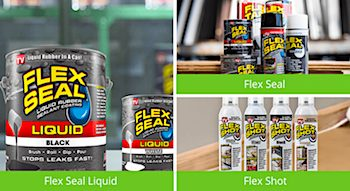 Flex Seal RV Roof Products