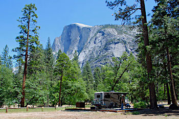 Lower Pines RV Campground Yosemite