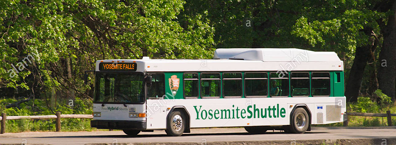 shuttle bus yosemite national park