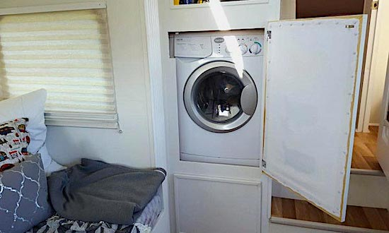Smallest RVs With a Washer and Dryer