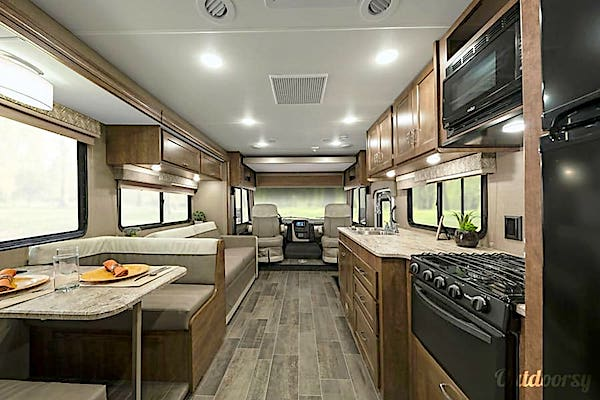 Luxury RV in Las Vegas