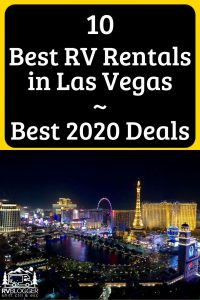 10 Best RV Rentals in Las Vegas Best 2020 Deals