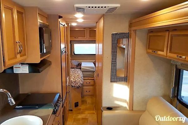 10 best rv rentals las vegas class a interior