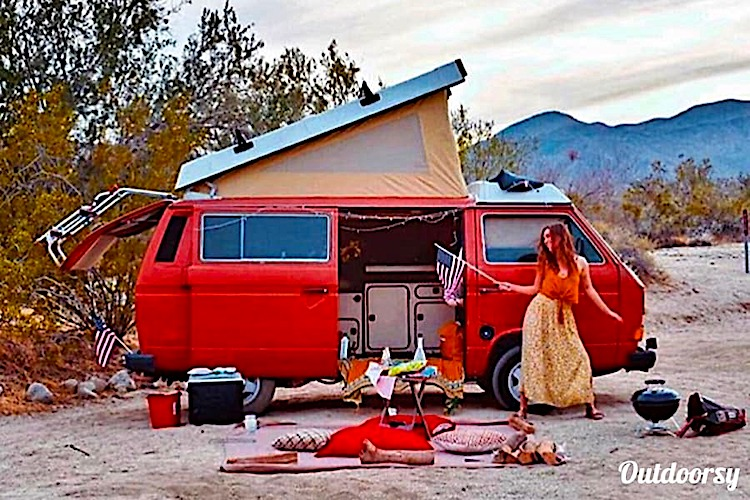 10 best rv rentals los angeles retro camper van