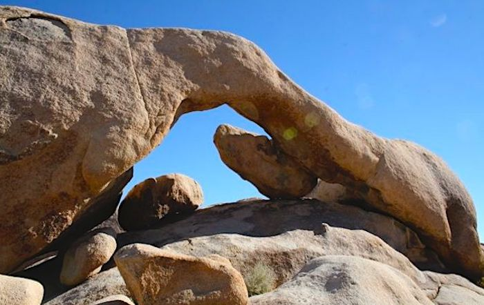 Arch Rock in Joshua Tree