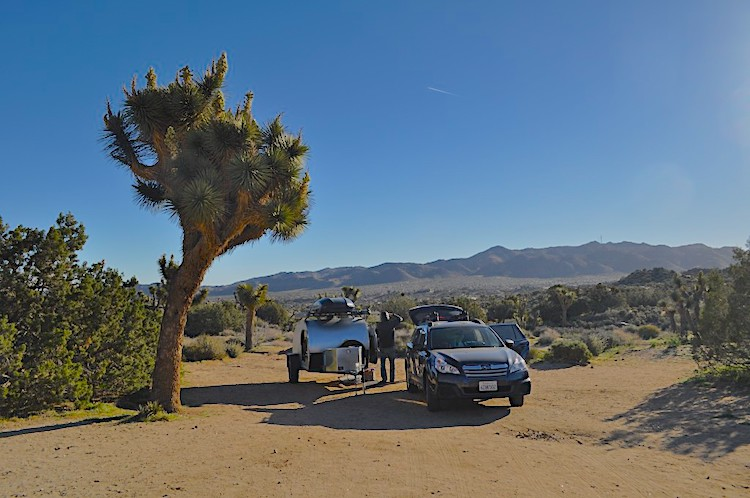 Black Rock Campground Joshua Tree National Park