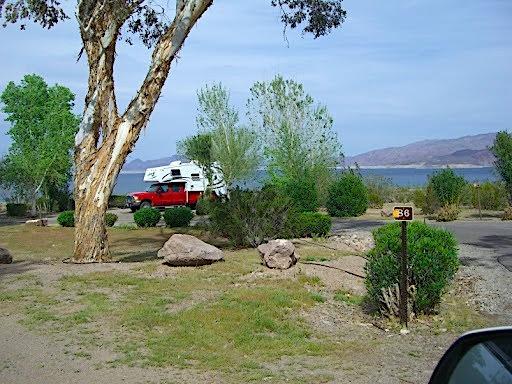 Boulder Beach Campground Nevada