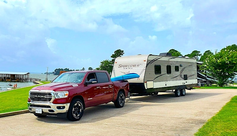 Camper trailer rental houston