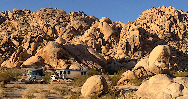 Indian Cove Campground Joshua Tree National Park