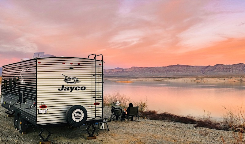 Jayco Jay Flight Travel Trailer rental las vegas