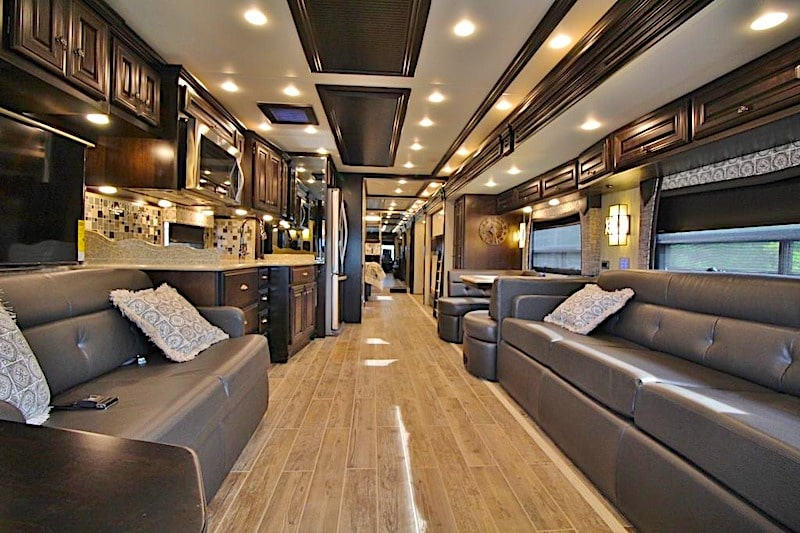 Luxury Class A RV rental houston TX