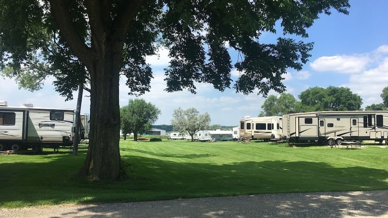 Martin Campground RV Rental in chicago
