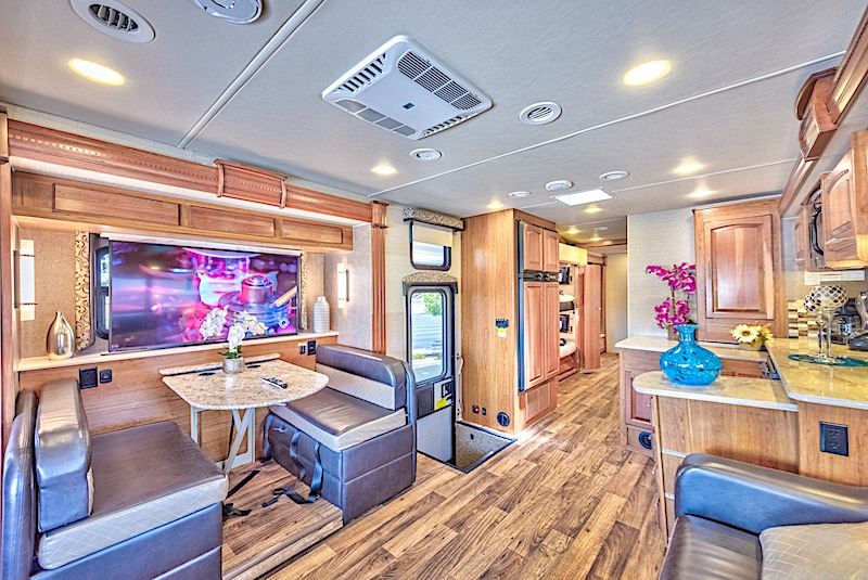 RV Rental Las Vegas Class A Motorhome