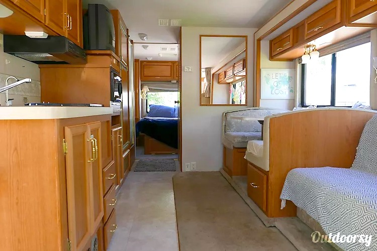 burning man rv rental sacramento CA